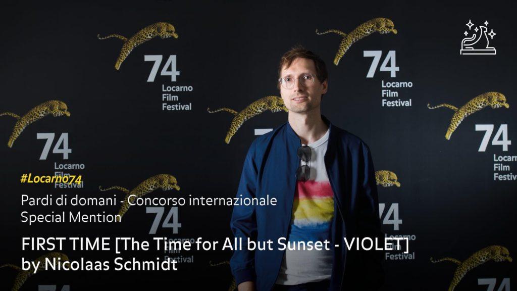 Nicolass Schmidt at Locarno74, 2021